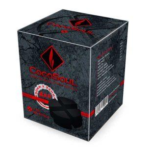 CocoSoul® 4er - Naturkohle Runde oder Kaloud aus Kokonussschalen - 1 kg