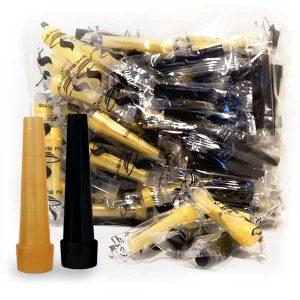My-Shisha-Hygiene-Mundstücke-–-5,5-cm-–-Schwarz-und-Gold-–-100-Stk-Beutel