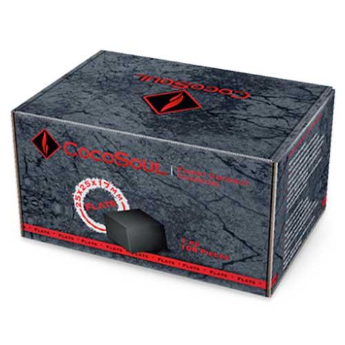 CocoSoul® - C17 Flats LIMITED - Naturkohle Cubes aus Kokonussschalen - 1 kg