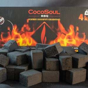 CocoSoul® BBQ - 4 kg Kokos-Grillbriketts